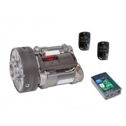 Kit BiMotor Winner 1200 PRO PUJOL 350 Kg para puerta Enrollable
